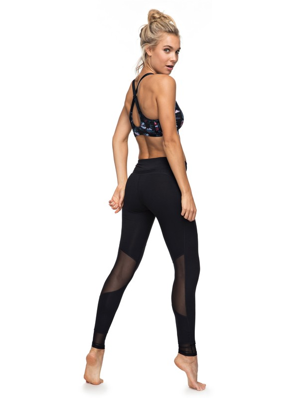 0 Hanakka - High Waist Leggings for Women Black ERJNP03130 Roxy