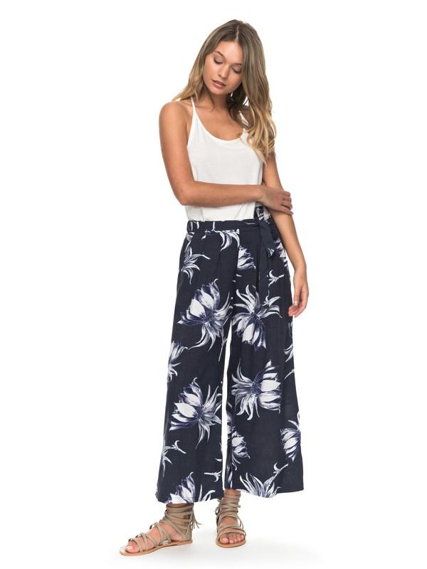 0 Pantalones de Pierna Ancha Ready Beachy Vibes  ERJNP03152 Roxy