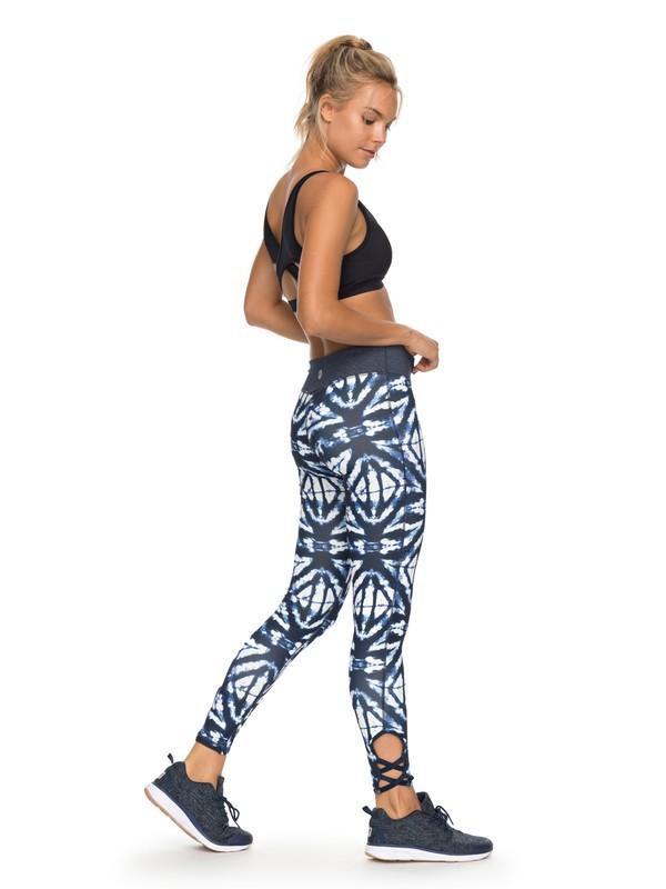 0 Natural Twist - Legging de sport Bleu ERJNP03164 Roxy a9378a59ec1