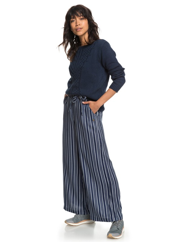 0 Waterfall Light Culottes Blue ERJNP03188 Roxy