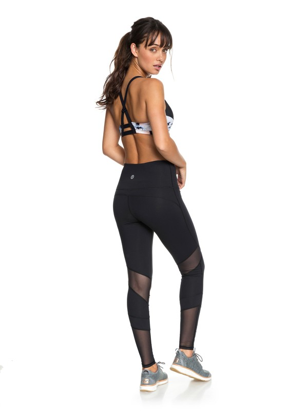 0 Mad About You - Yoga-Leggings für Frauen Schwarz ERJNP03195 Roxy