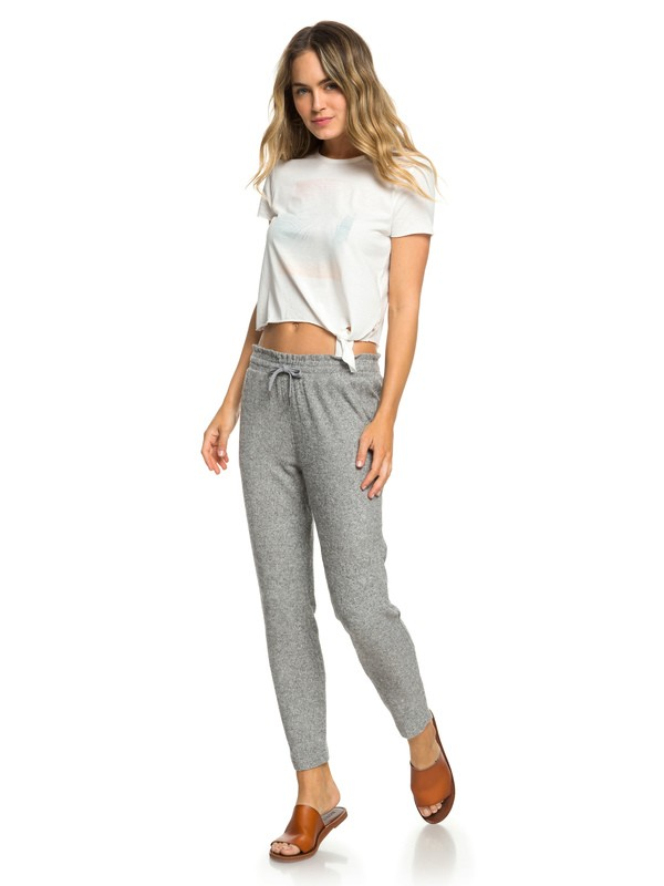 0 Beach Dance Super-Soft Joggers Grey ERJNP03229 Roxy