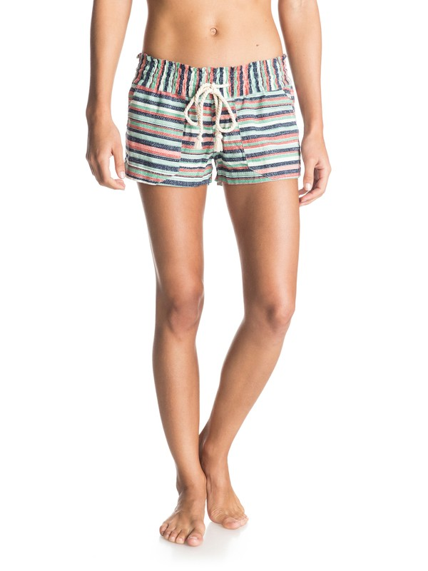 0 Oceanside Printed Beach shorts  ERJNS03010 Roxy