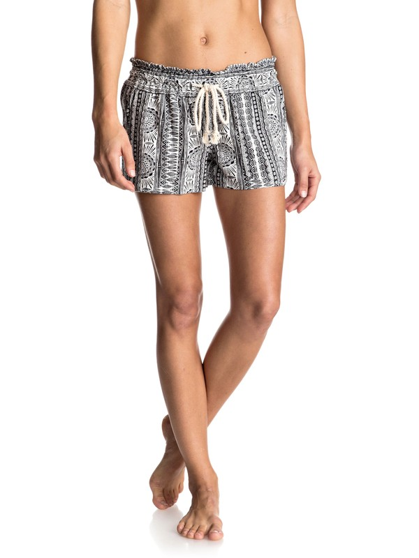 0 Oceanside Printed Beach Shorts  ERJNS03073 Roxy