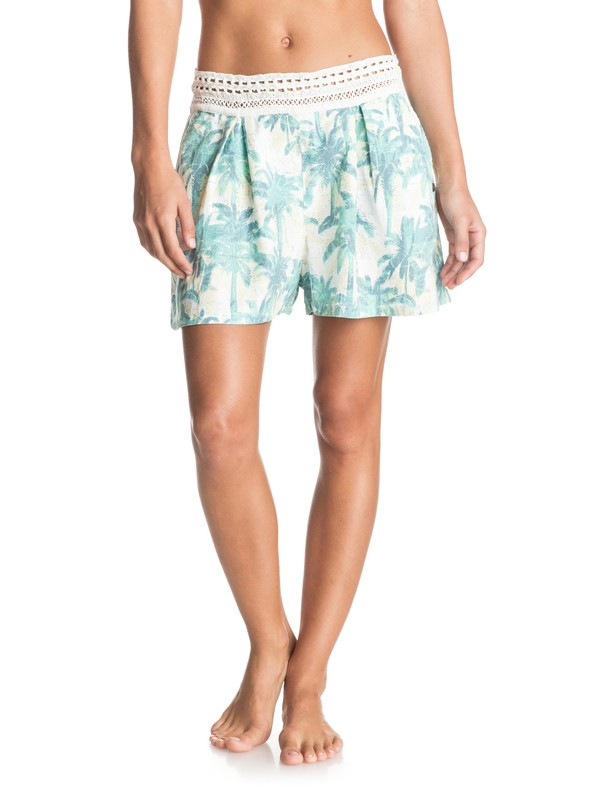 0 Surf Queens - Viscose Shorts  ERJNS03081 Roxy