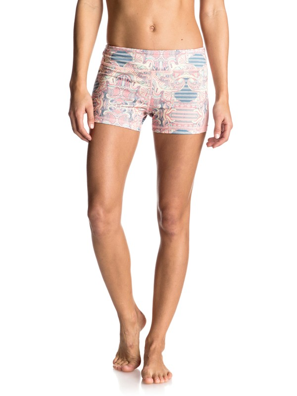 "0 Imanee Printed 3"" Shorts  ERJNS03091 Roxy"