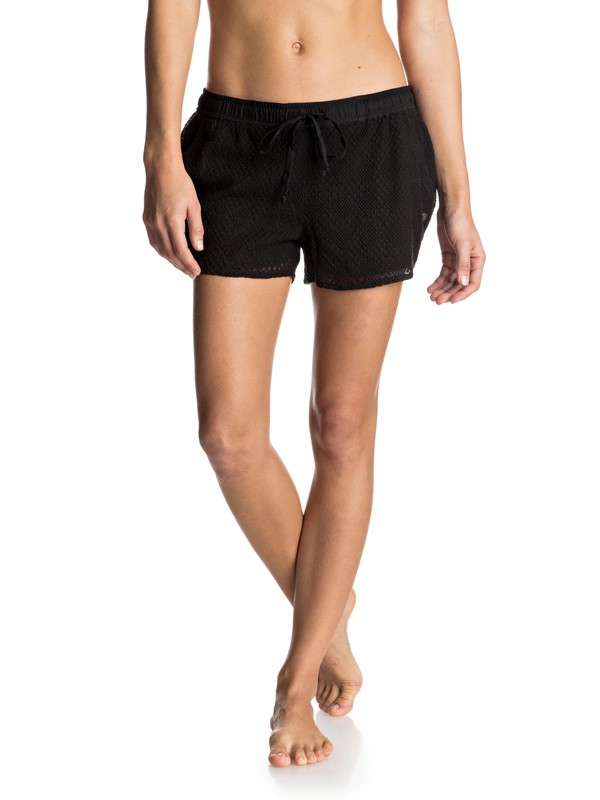 0 Lucky Spirit Lace Shorts  ERJNS03096 Roxy