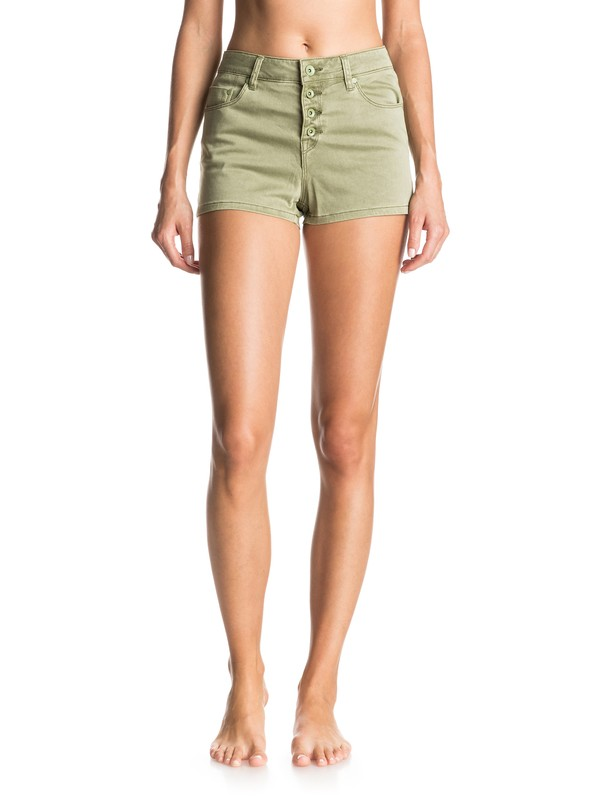 0 Mission To Glory High Waisted Shorts  ERJNS03098 Roxy