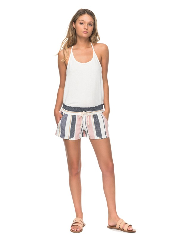 0 Oceanside Stripe Beachshorts  ERJNS03129 Roxy