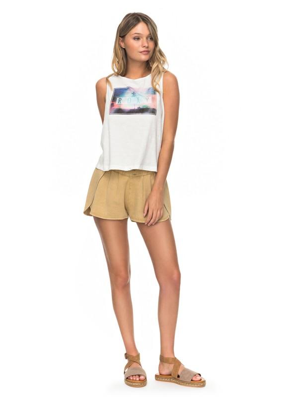0 Nassau  Shorts Beige ERJNS03136 Roxy