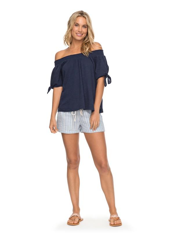0 Oceanside Beach Shorts Blue ERJNS03138 Roxy