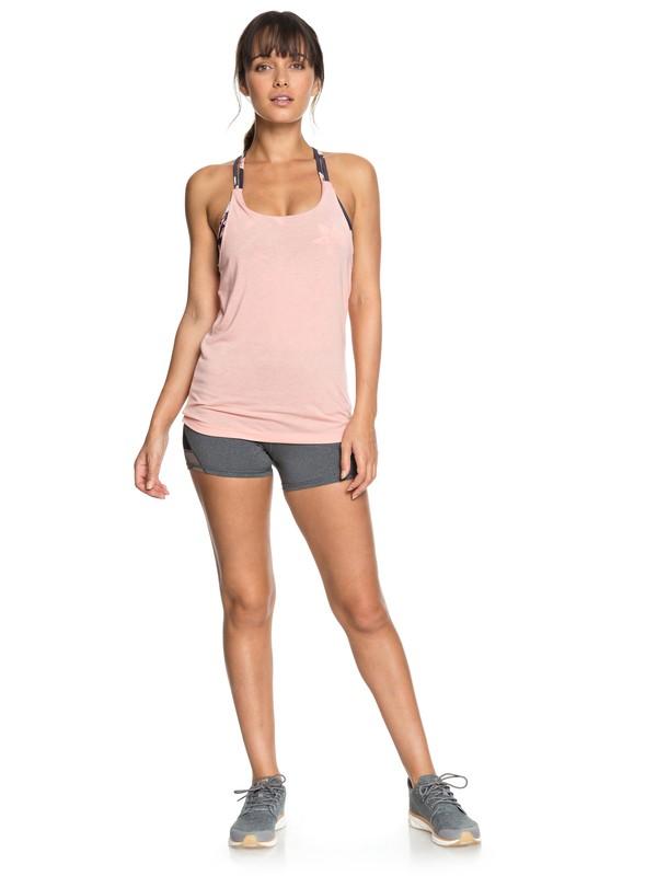 0 Mad About You Yoga Shorts Black ERJNS03170 Roxy