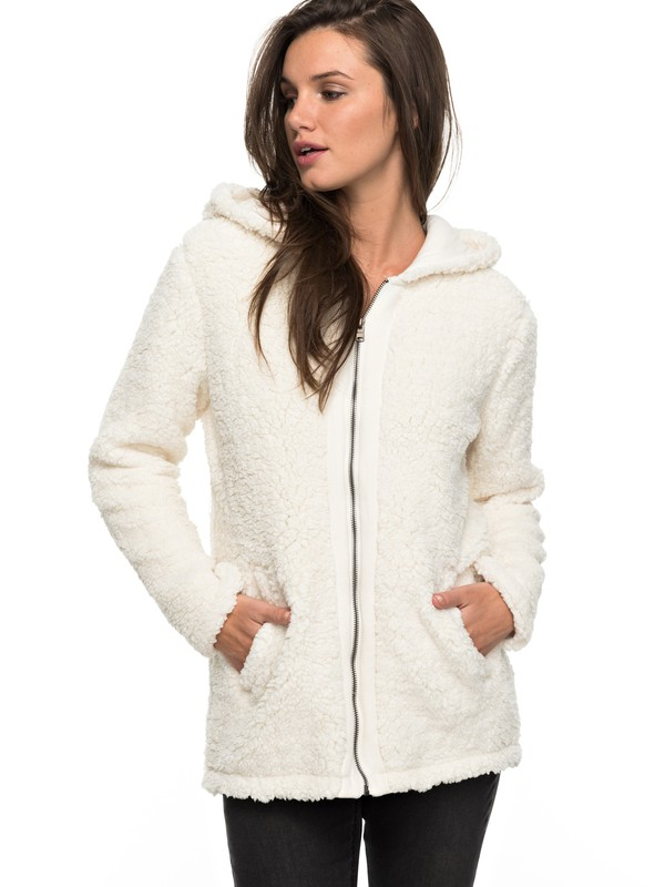 0 Curl Out - Zip-Up Hoodie for Women  ERJPF03029 Roxy