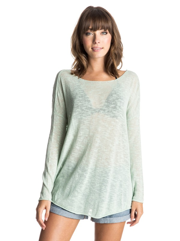0 Wish You Were Here Sweater  ERJSW03096 Roxy