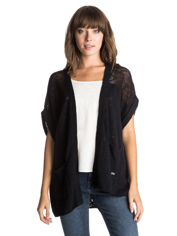 0 Schooner Gulch  Open Front Sweater  ERJSW03109 Roxy