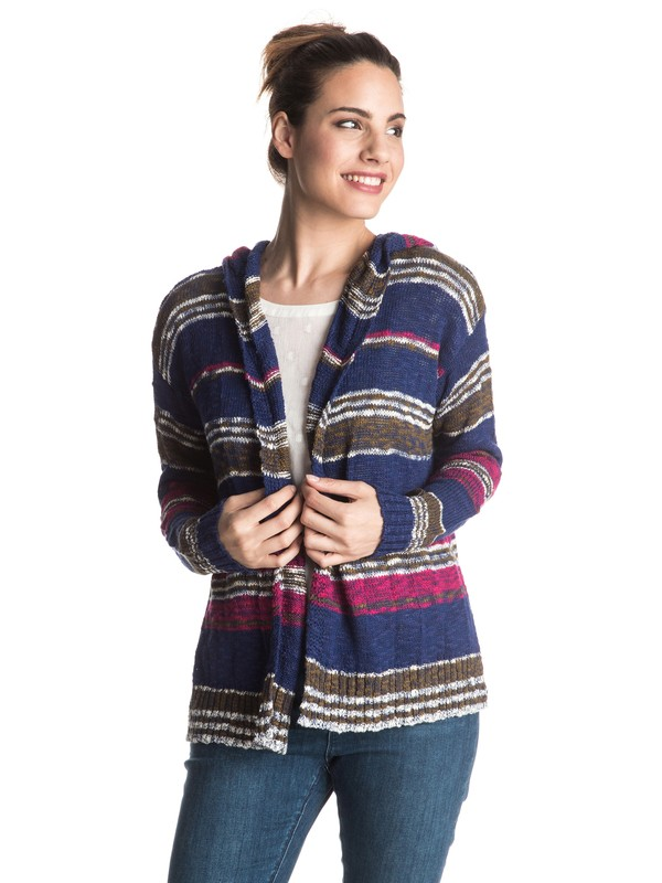 0 Misty Seas Stripe Sweater  ERJSW03141 Roxy