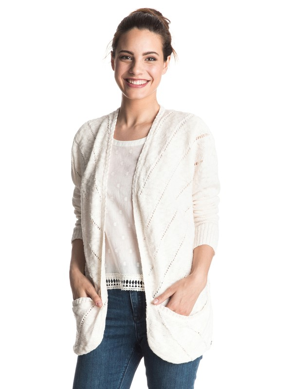 0 Waiting On You Cardigan  ERJSW03146 Roxy