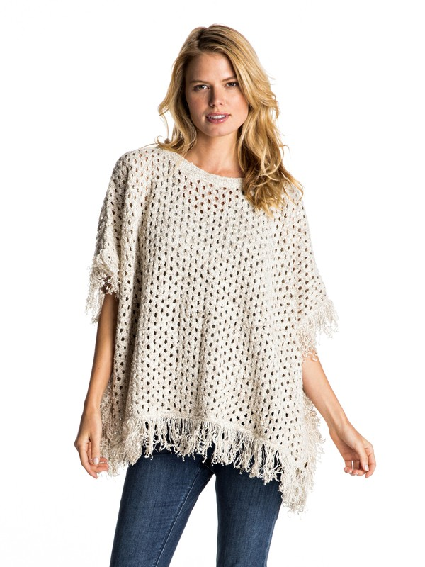 0 Perfect Surf - Knitted Poncho  ERJSW03193 Roxy