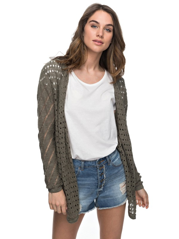 0 Awake My Soul Hooded Cardigan  ERJSW03207 Roxy