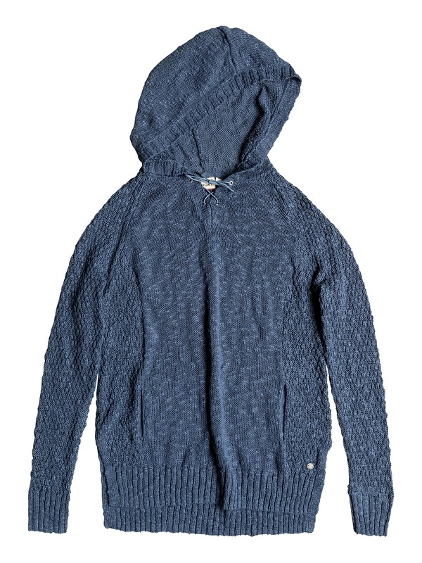 0 Smooth And Sassy Knitted Hoodie  ERJSW03210 Roxy