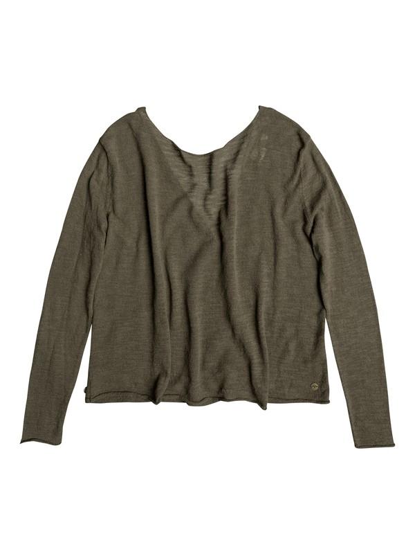 0 In Like With You Wrap Sweatshirt  ERJSW03218 Roxy