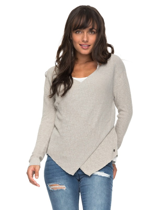 0 Love At First Light Wrap Sweater  ERJSW03227 Roxy