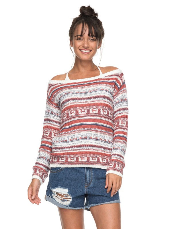 0 Cold Is Coming Off The Shoulder Sweater  ERJSW03228 Roxy