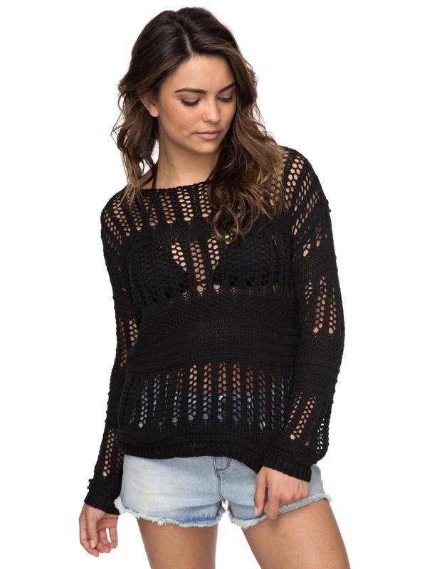 0 Blush Seaview  Sweater Black ERJSW03241 Roxy