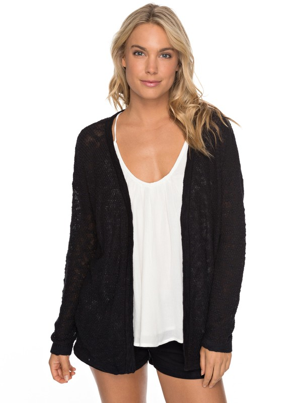0 Livin Sunday - Cardigan for Women Black ERJSW03246 Roxy