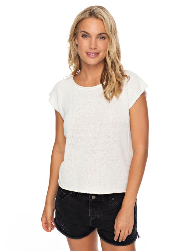 0 Atmospheric Desert Sleeveless Top White ERJSW03266 Roxy