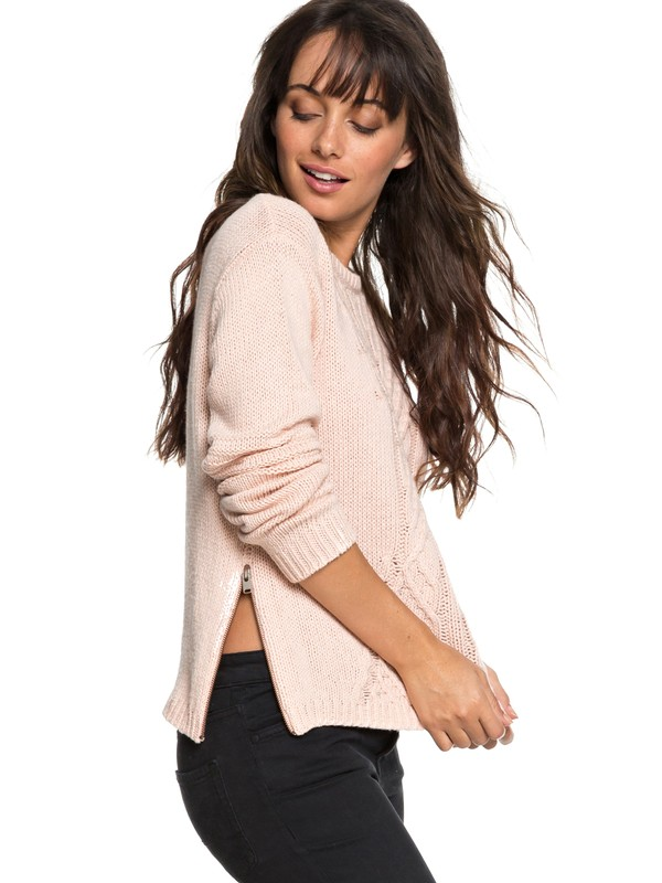 0 Glimpse Of Romance Sweater Pink ERJSW03276 Roxy
