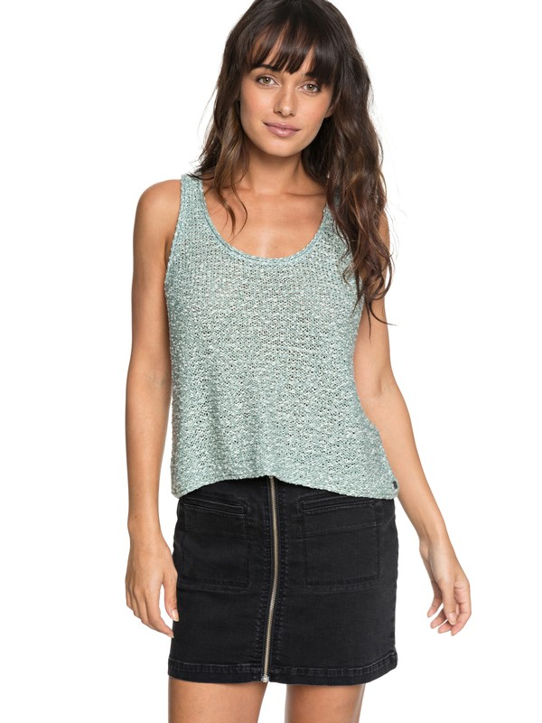 0 Army Shades Tank Blue ERJSW03283 Roxy