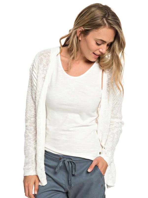 0 Liberty Discover - Gilet pour Femme Blanc ERJSW03310 Roxy