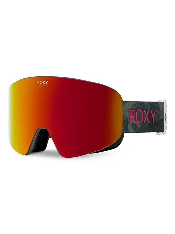 0 Feelin' - Snowboard- / Skibrille Grün ERJTG03037 Roxy