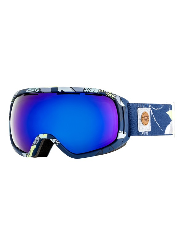 0 Rockferry - Masque de ski/snowboard pour Femme Bleu ERJTG03055 Roxy