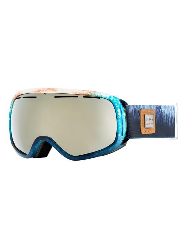 0 Rockferry - Masque de ski/snowboard pour Femme Blanc ERJTG03055 Roxy