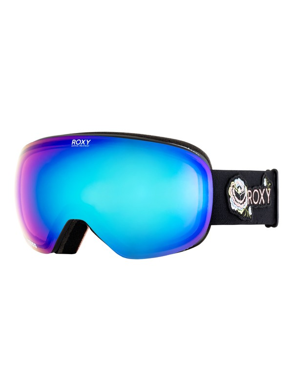 0 Popscreen Torah Bright - Máscara para esquí/snowboard para Mujer Negro ERJTG03059 Roxy