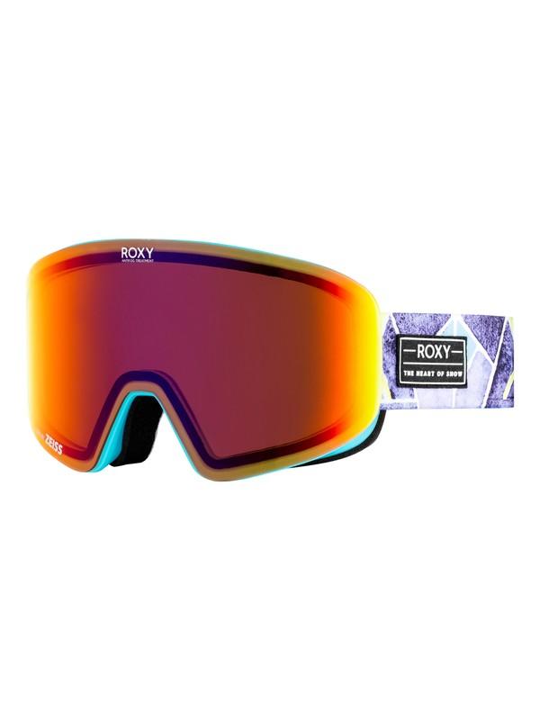 0 Feelin' - Masque de ski/snowboard pour Femme Bleu ERJTG03060 Roxy