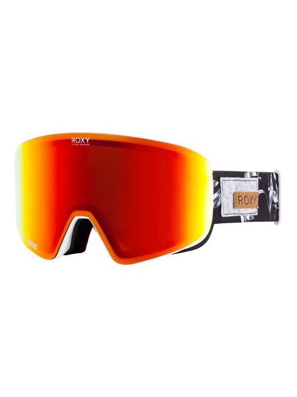 0 Feelin Snowboard/Ski Goggles Black ERJTG03060 Roxy