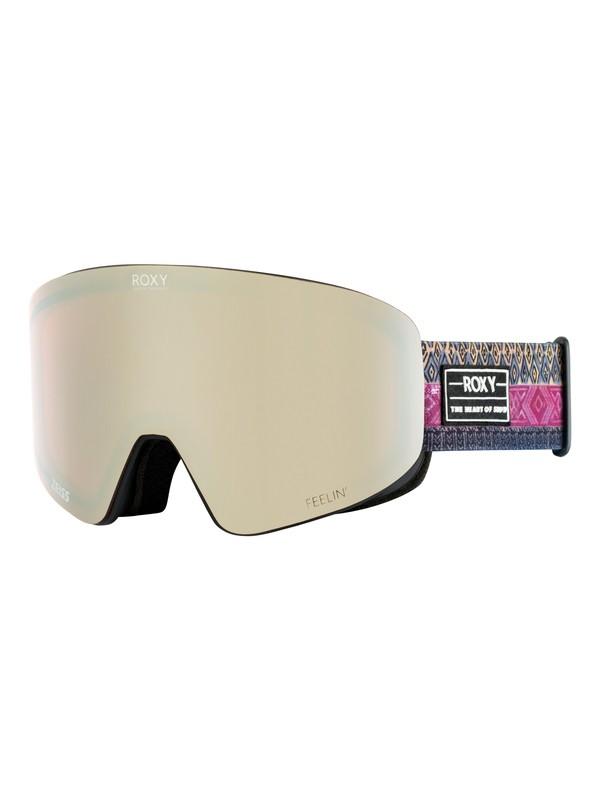 0 Feelin Ski/Snowboard Goggles Black ERJTG03060 Roxy