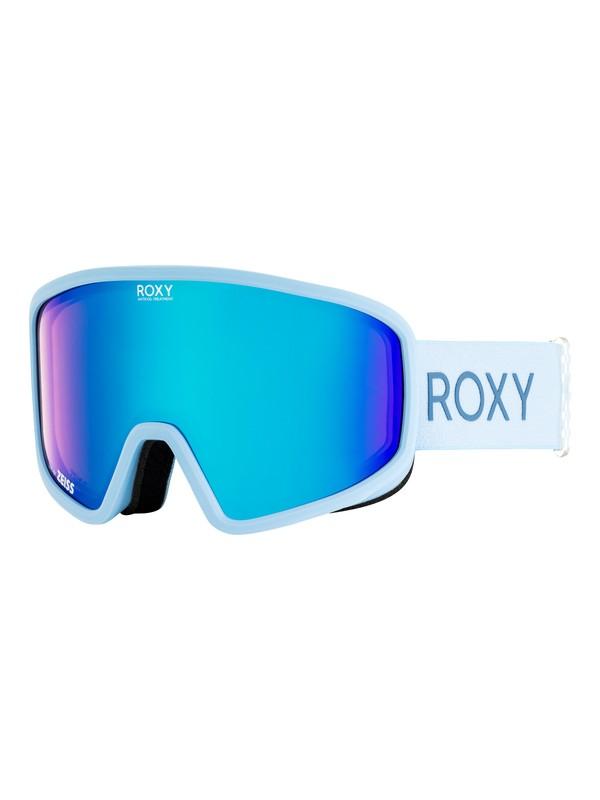 0 Feenity - Masque de ski/snowboard pour Femme Bleu ERJTG03061 Roxy