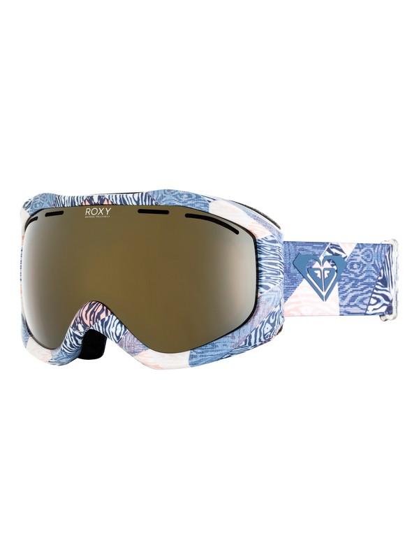 0 Sunset Art Series Snowboard/Ski Goggles Blue ERJTG03065 Roxy