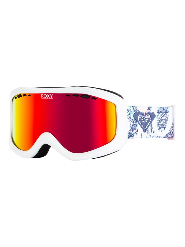 0 Sunset - Masque de ski/snowboard pour Femme Blanc ERJTG03068 Roxy