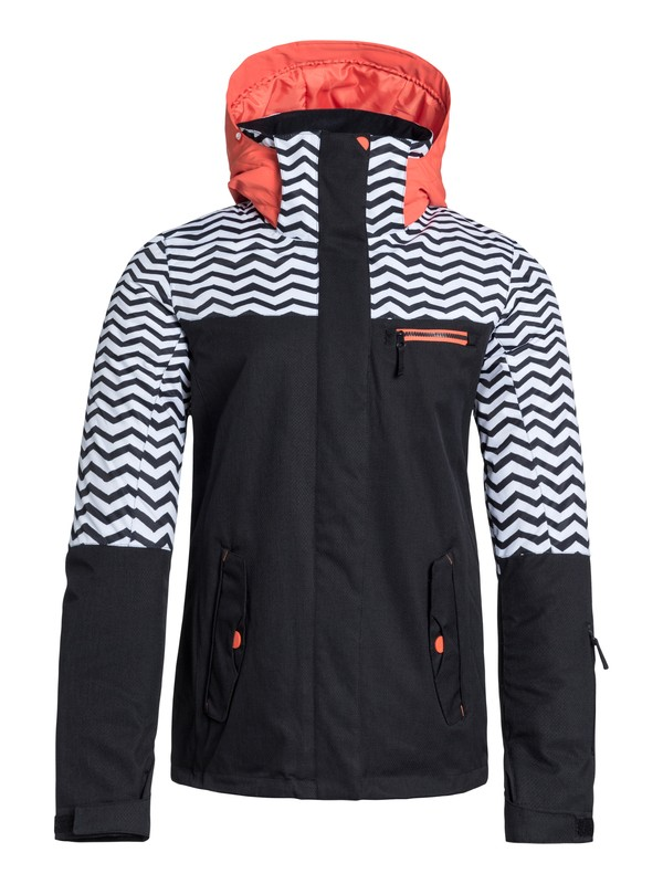 0 Jetty Block Snow Jacket  ERJTJ03007 Roxy