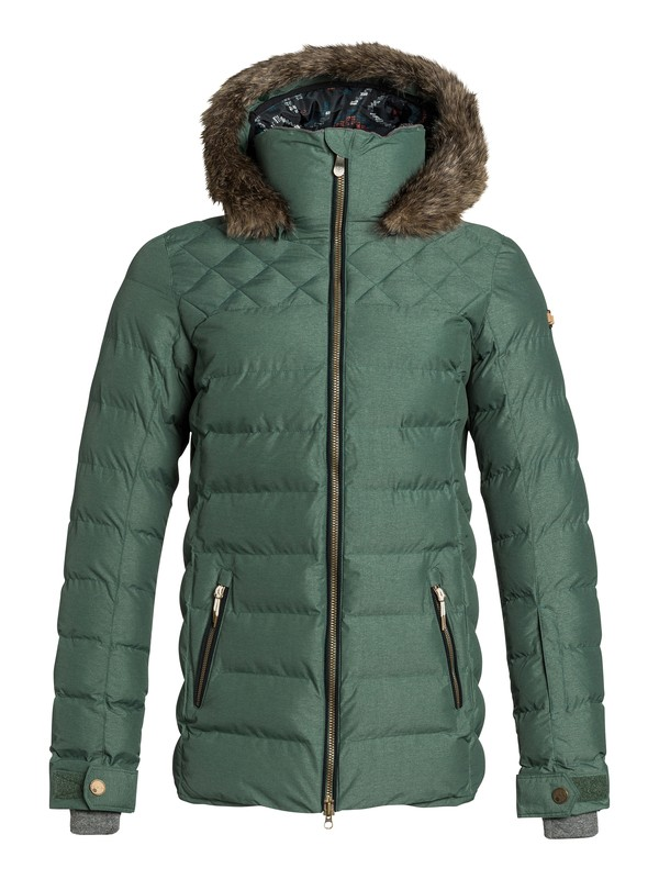 0 Quinn Snow Jacket  ERJTJ03022 Roxy