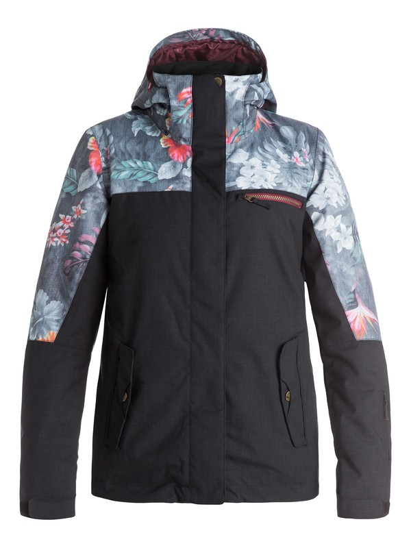 0 ROXY Jetty Block - Snow Jacket  ERJTJ03054 Roxy