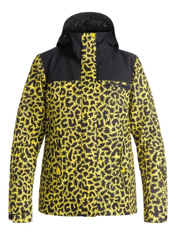 0 ROXY Jetty Block - Snow Jacket Yellow ERJTJ03054 Roxy