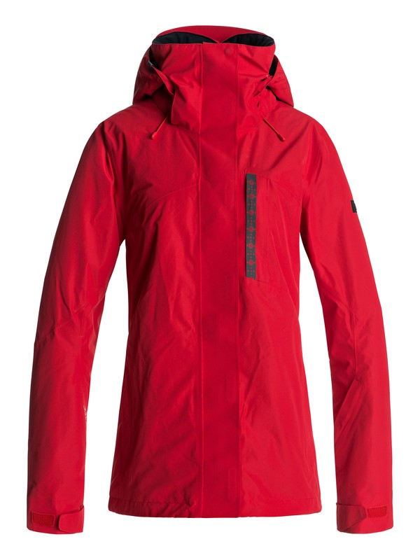 0 Wilder 2L GORE-TEX® - Snow Jacket for Women Red ERJTJ03104 Roxy