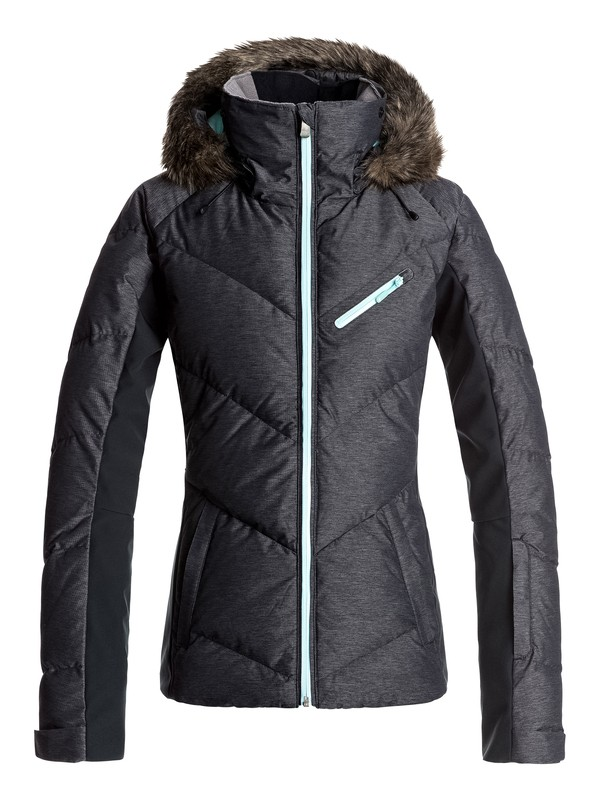 0 Snowstorm - Snow Jacket for Women Black ERJTJ03105 Roxy