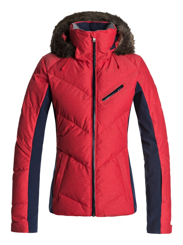 0 Snowstorm - Snow Jacket for Women Red ERJTJ03105 Roxy